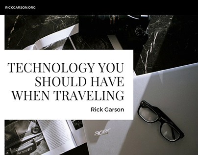 Technology You Should Have When Traveling