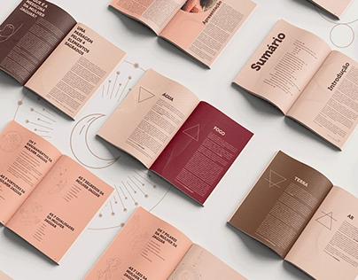 Design Editorial · A Medicina da Mulher Jaguar