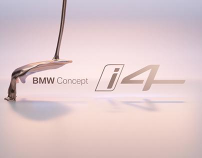 BMW Concept i4 - A Fluid Teaser