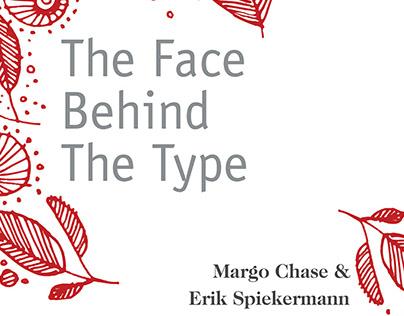 Margo Chase and Erik Spiekermann exhibition poster