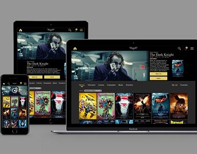 Batman Streaming Service App