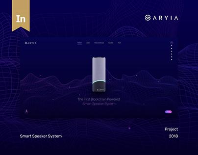 Aryia – Smart Speaker Ecosystem