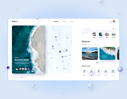 Travel Web UI