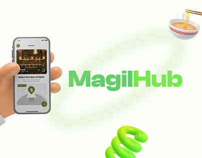 MagilHub - Seat Booking Module UI/UX Design🪑👍🏻