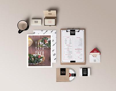 Theo Brasserie | Branding & Design