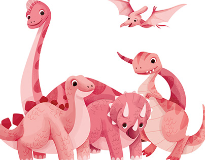 What if Dinosaurs were Pink?