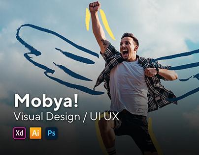 Landing Page Mobya!