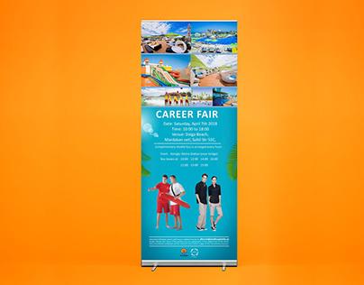Roll Up Banner for Dalga Beach Aquapark Resort