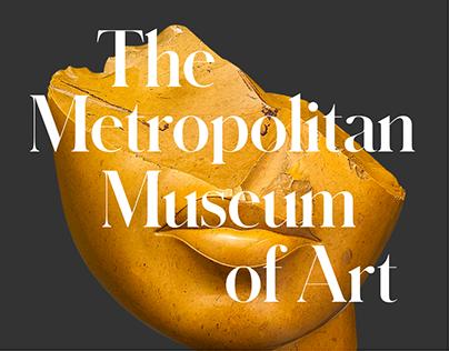The Metropolitan Museum of Art Website Concept