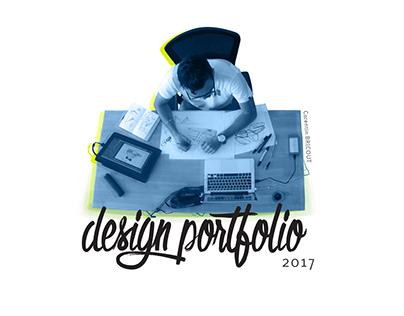 Design portfolio 2017 - Corentin BRICOUT
