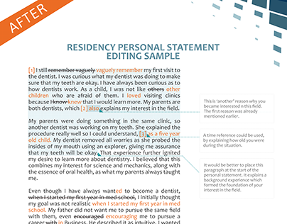 questions to answer in residency personal statement Answer 3 questions to write your personal essay for a u  to avoid having your personal statement sound  you can too by asking yourself the following questions.