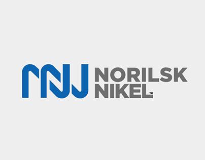 Norilsk Nikel logo & type™ 2015. Self Initiated Project