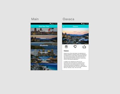 Travel app *work in progress*