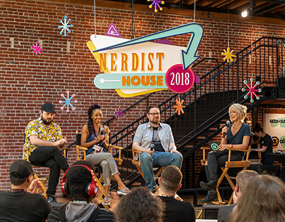 Nerdist House at Comic-Con