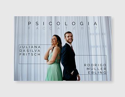 Formatura Juliana e Rodrigo