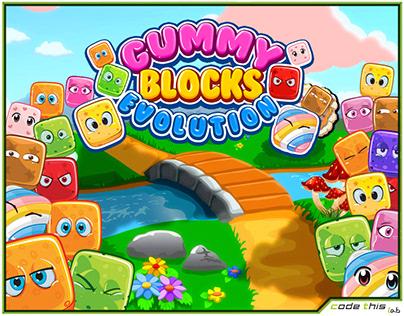 Android/iOS App: Gummy Blocks Evolution