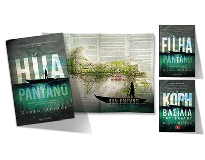 Modern thriller bestseller cover art