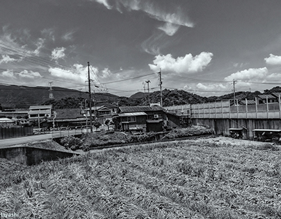 Downstream( North Wakayama Prefectur Monochrome)