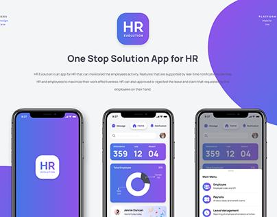 HR Management - Mobile Application