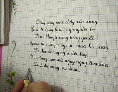 hình ảnh khóa học luyện chữ hồ chí minh