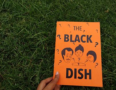 THE BLACK DISH- Indian Kitchen Comic Book