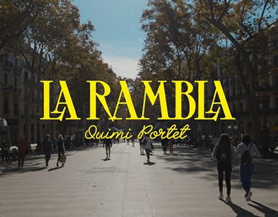 La Rambla / Quimi Portet
