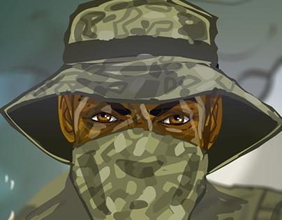Sniper clip cartoon