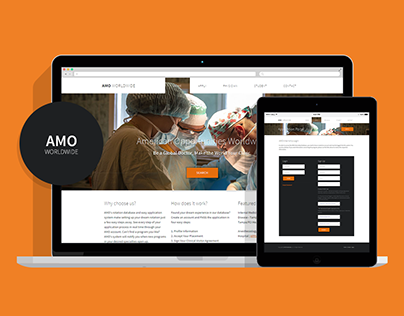 AMO Worldwide UI Re-design