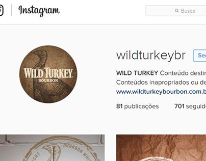 Wild Turkey Brasil   Shooting Instagram