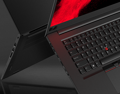 CG Lenovo ThinkPad P1 Laptop Rendering
