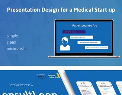 Presentation for a Medical Start-up
