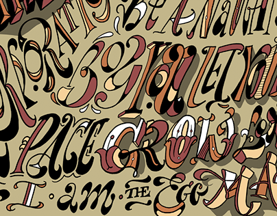 Lettering • The Beatles Poster Collection