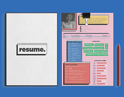 Personal Resume & Business Card design