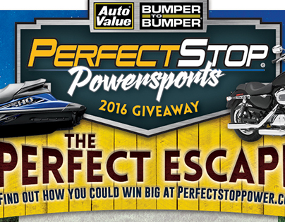 Powersport Giveaway Entry Pad