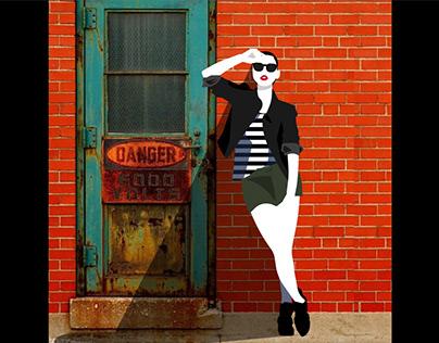 Photoillustrations for Fashion