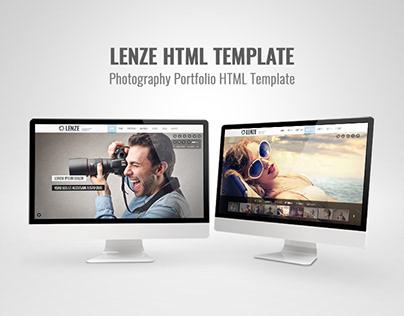 Lenze - Portfolio Photography HTML Template