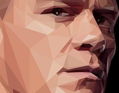 John Cena Vector Art