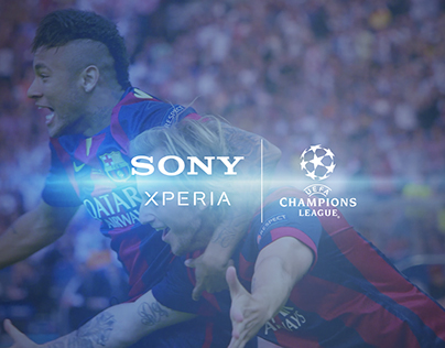 The final of Champions League - Sony :)