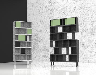 303 - modular shelving