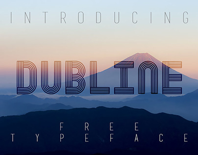 FREE | Dubline Typeface