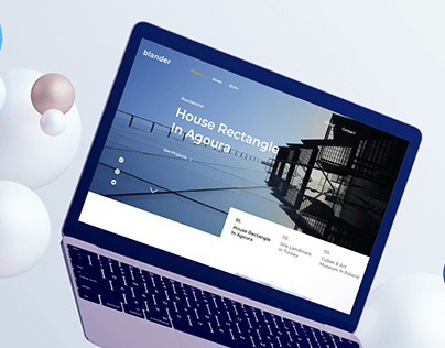 Architect Landing Page