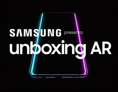 Unboxing AR - Samsung Galaxy S10