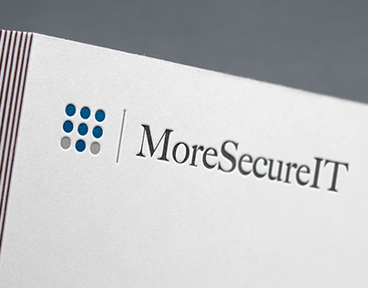 More Secure IT - Logo, Branding, Website Design