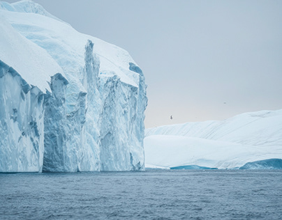 Disko Bay and the Melting Icebergs of Greenland