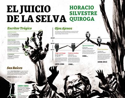 INFOGRAFÍA sobre Horacio Quiroga
