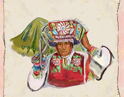 Ilustraciones para Festival Caravana de Poesía