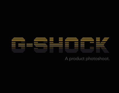 G-Shock Studio shoot, A photography exploration.