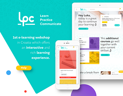 LPC - 1st Croatian online learning store