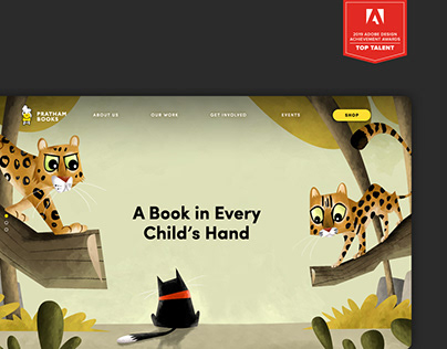 Pratham Books Website