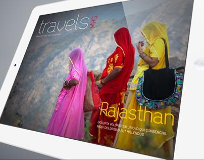 Magazine interactif pour Ipad